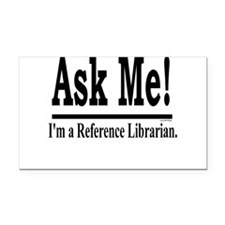 askme.jpg Rectangle Car Magnet