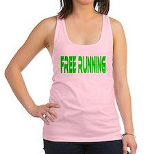 freerunning2.png Racerback Tank Top