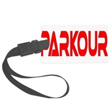 parkour4.png Luggage Tag