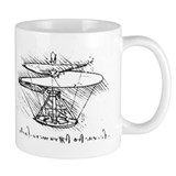 Da Vinci Aerial Screw Mug