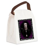 Edgar Allan Poe Canvas Lunch Bag