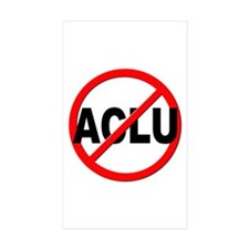 Anti / No ACLU Decal