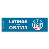 Latinos for Obama Bumper Sticker