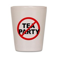 Anti / No Tea Party Shot Glass