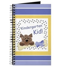 Blue Kindergarten Kids Journal