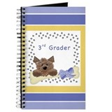 Cute Dog 3rd Grader Notebook Journals