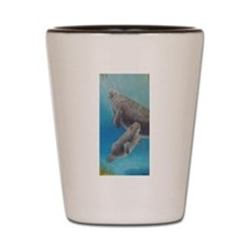 Manatee Ballet.jpg Shot Glass