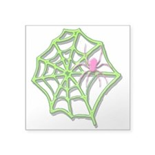 "Arachneon1 Square Sticker 3"" x 3"""