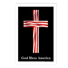 """God Bless America"" Postcards (Package of 8)"