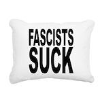 fascistssuck.png Rectangular Canvas Pillow