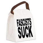 fascistssuck.png Canvas Lunch Bag