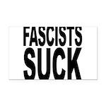 fascistssuck.png Rectangle Car Magnet