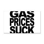 gaspricessuckblk.png Rectangle Car Magnet