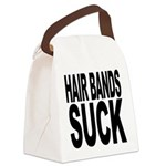 hairbandssuck.png Canvas Lunch Bag
