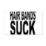 hairbandssuck.png Rectangle Car Magnet