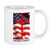 """God Bless America"" Coffee Mug"