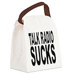 talkradiosucks.png Canvas Lunch Bag