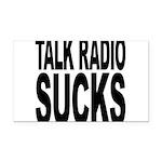 talkradiosucks.png Rectangle Car Magnet
