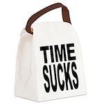 timesucks.png Canvas Lunch Bag