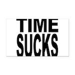 timesucks.png Rectangle Car Magnet