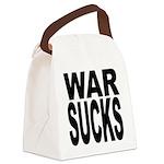warsucksblk.png Canvas Lunch Bag