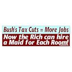 Bush's Jobs Plan Bumper Sticker
