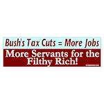 More Jobs by Bush Bumper Sticker