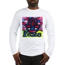 Hamsa Peace Khamsa Long Sleeve T-Shirt