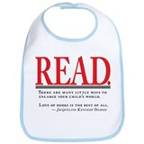 Love of Books Bib