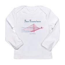 San Francisco Long Sleeve Infant T-Shirt