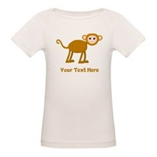 Monkey and Text. Tee