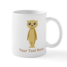 Meerkat with Text. Mug