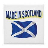MADE IN SCOTLAND Tile Coaster