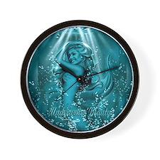Underwater Beauty Wall Clock
