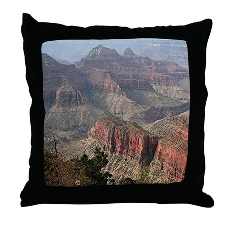 Grand Canyon North Rim, Arizona Throw Pillow