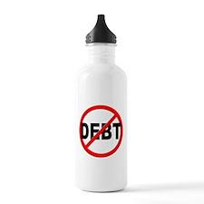Anti / No Debt Water Bottle