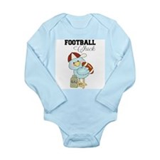 Tweeting Football Chick Baby Bodysuit Long Sleeve