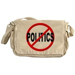 Anti / No Politics Messenger Bag