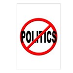 Anti / No Politics Postcards (Package of 8)