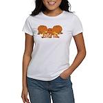 Halloween Pumpkin Gloria Women's T-Shirt