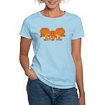 Halloween Pumpkin Gloria Women's Light T-Shirt