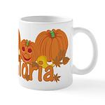 Halloween Pumpkin Gloria Mug