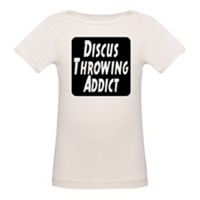 Discus Throwing Addict Tee
