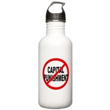 Anti / No Capital Punishment Water Bottle