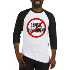 Anti / No Capital Punishment Baseball Jersey