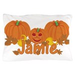 Halloween Pumpkin Jamie Pillow Case