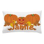 Halloween Pumpkin Jamie Pillow Case