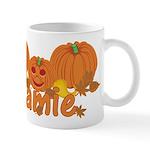 Halloween Pumpkin Jamie Mug