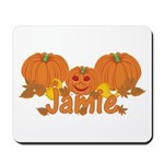 Halloween Pumpkin Jamie Mousepad