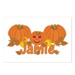 Halloween Pumpkin Jamie Postcards (Package of 8)